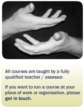 All courses are taught by a fully qualified teacher / assessor. Please contact us.